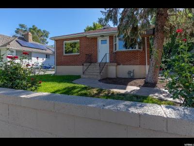 Salt Lake City UT Single Family Home For Sale: $369,000