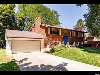 Holladay Single Family Home For Sale: 4884 S Cottonwood Ln