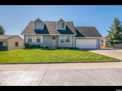 West Jordan Single Family Home For Sale: 5245 W Saguaro Dr
