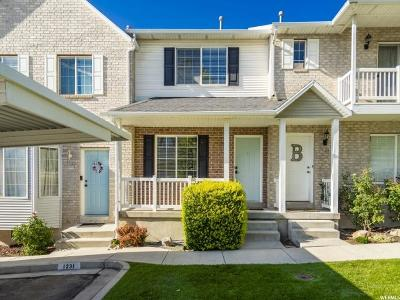 Spanish Fork Townhouse Under Contract: 1231 E 570 N