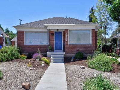Salt Lake City Single Family Home For Sale: 1224 E Driggs Ave S