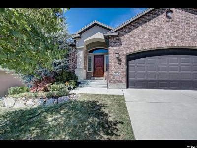 South Jordan Single Family Home For Sale: 484 W Aspen Gate Ln