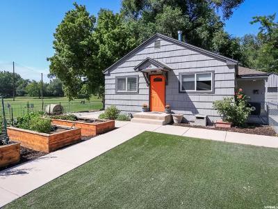 Salt Lake City Single Family Home For Sale: 669 E Wandamere Ave