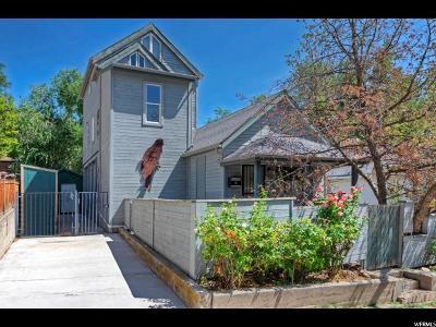 Salt Lake City Single Family Home For Sale: 322 M St E