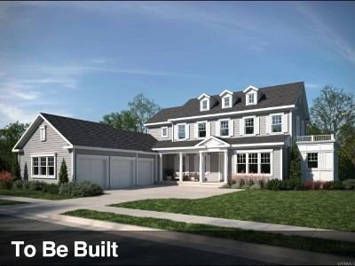 South Jordan Single Family Home For Sale: 10751 S Fern Ridge Dr W #331