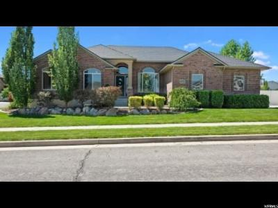Herriman Single Family Home For Sale: 6191 W Tapestry Ln S