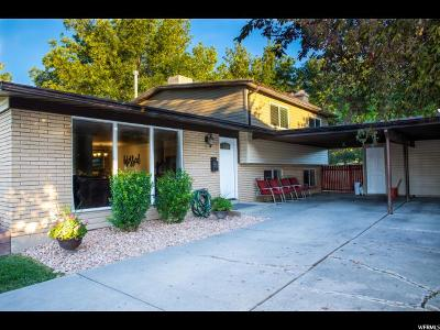 Salt Lake City Single Family Home For Sale: 3315 W 4060 S
