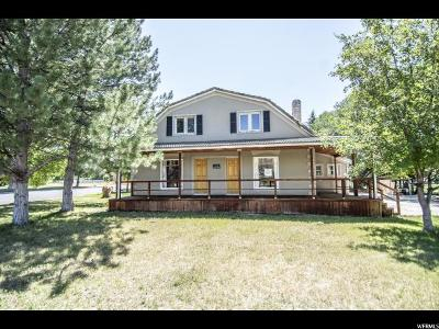 Mapleton Single Family Home For Sale: 20 W 2000 N