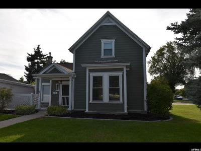 Logan Single Family Home For Sale: 95 N 300 W