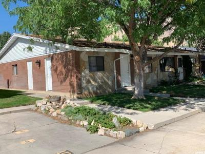 Ogden Single Family Home Under Contract: 947 Canyon Rd #5