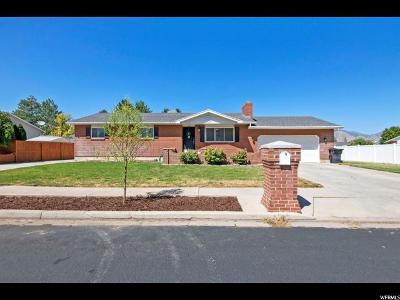Spanish Fork Single Family Home For Sale: 1789 E 640 S