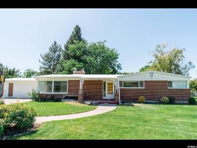 Logan Single Family Home Under Contract: 1655 Sunset Dr