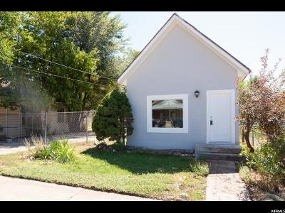 Ogden Single Family Home For Sale: 537 E Cook St S