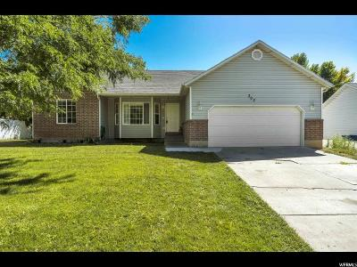 Santaquin Single Family Home For Sale: 307 W 700 N