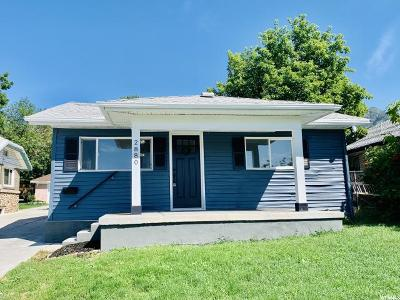 Ogden Single Family Home Under Contract: 2880 Fowler Ave