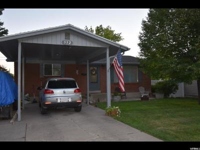 Logan Single Family Home For Sale: 552 W 600 N