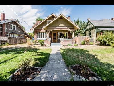 Logan Single Family Home Under Contract: 415 W Center
