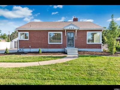 Kaysville Single Family Home Backup: 358 E 200 N