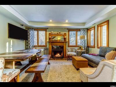 Park City Townhouse For Sale: 1920 Canyons Resort Dr #26C