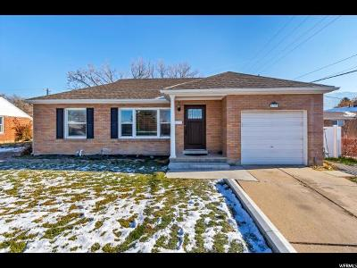 Kaysville Single Family Home Under Contract: 400 N 100 E
