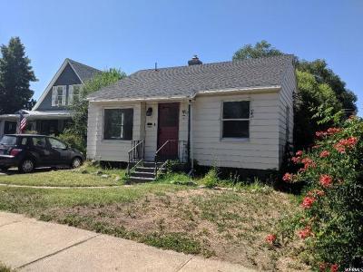 South Ogden Single Family Home For Sale: 3683 S Adams Ave E