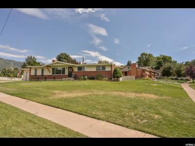 South Ogden Single Family Home Under Contract: 721 E Lavina Dr