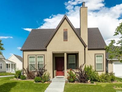 South Jordan Single Family Home For Sale: 11073 S Marjoram Ln W