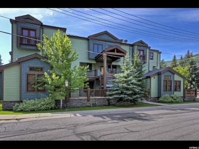 Park City Condo For Sale: 1499 Park Ave #10
