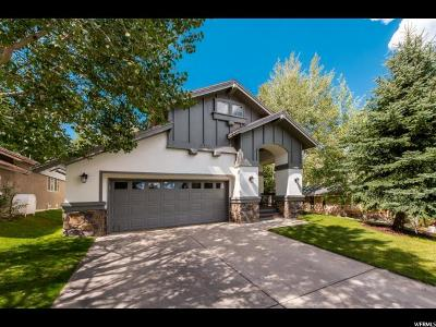 Park City Single Family Home Under Contract: 2020 Tommy Moe Ct #2