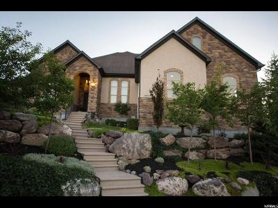 Herriman Single Family Home Under Contract: 14368 S Log Home Ln.