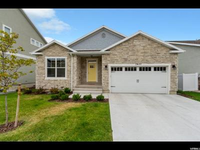 West Jordan Single Family Home For Sale: 7877 S Whitemire W