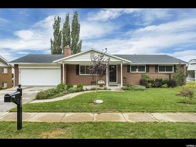Bountiful Single Family Home Under Contract: 783 N 750 E