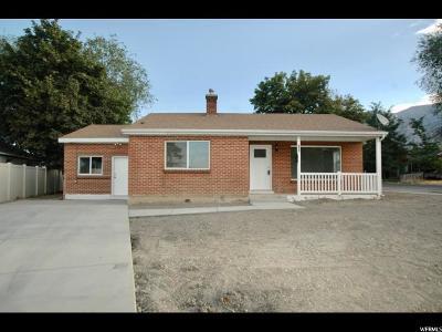 Pleasant Grove Single Family Home For Sale: 320 W Center