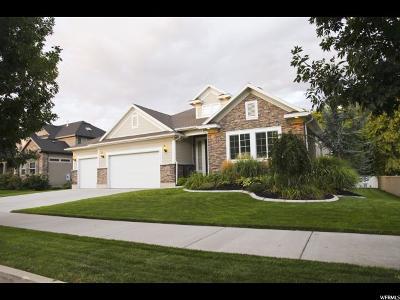 South Jordan Single Family Home For Sale: 11361 S Soldier Creek Ln
