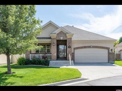 South Jordan Single Family Home Under Contract: 1387 W Temple Vista Ln