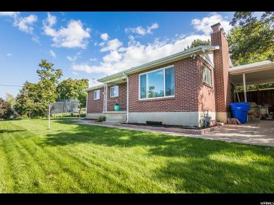 Farmington Single Family Home Under Contract: 480 N 200 E