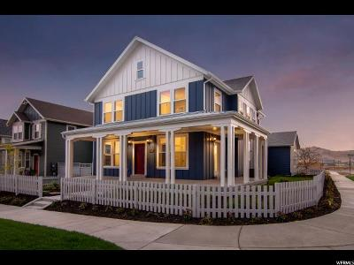 South Jordan Single Family Home For Sale: 6383 W Meadow Grass Dr S #4-550