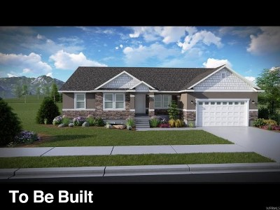 Herriman Single Family Home Under Contract: 12456 S Clipper Peak Dr #801