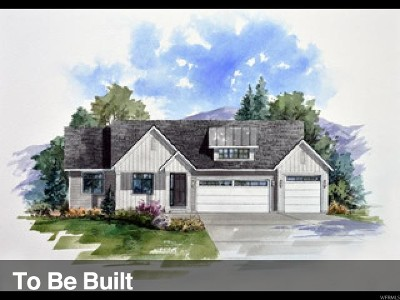 West Jordan Single Family Home Under Contract: 1121 W Thursby Ct S #128