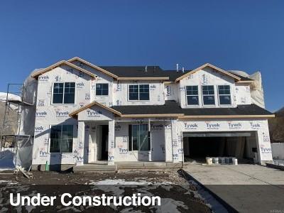 Springville Single Family Home For Sale: 33 S 700 W