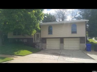 Bountiful Single Family Home For Sale: 1929 S 900 E