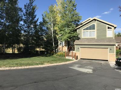 Park City Single Family Home For Sale: 7387 N Brook Hollow