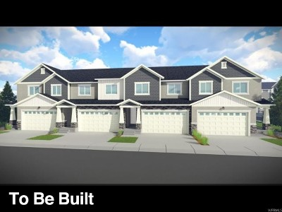 Lehi Townhouse For Sale: 1594 N 3650 W #1617