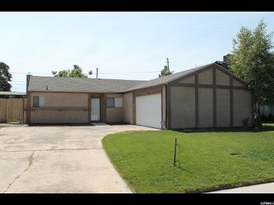 Orem Single Family Home For Sale: 327 W 205 N