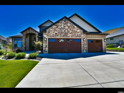 Herriman Single Family Home Under Contract: 5459 W Aurora Vista Dr S