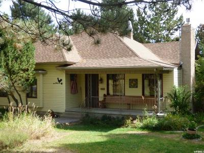 Mendon Single Family Home Under Contract: 140 N 200 W