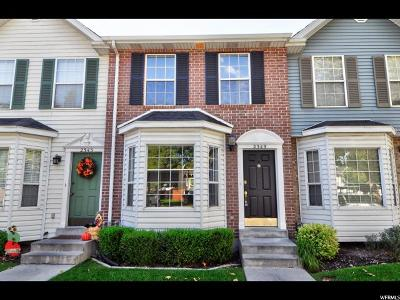 Provo Townhouse For Sale: 2349 W 510 N