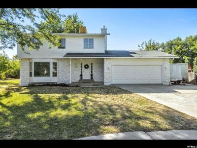 Orem Single Family Home Under Contract: 151 W 1485 N