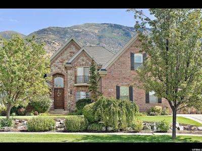 Pleasant Grove Single Family Home For Sale: 3084 N Millcreek Rd