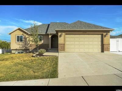 Herriman Single Family Home Under Contract: 14349 S Crown Rose Dr